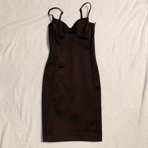 H&M Black Body Con Dress Size 4